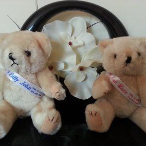 Personalised Teddy Bear Keepsake